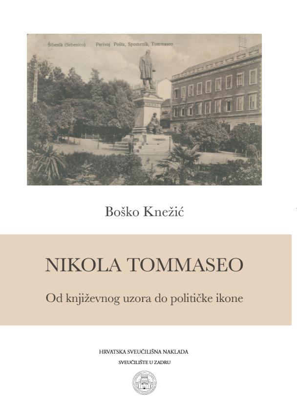 NIKOLA TOMMASEO-Od književnog uzora do političke ikone