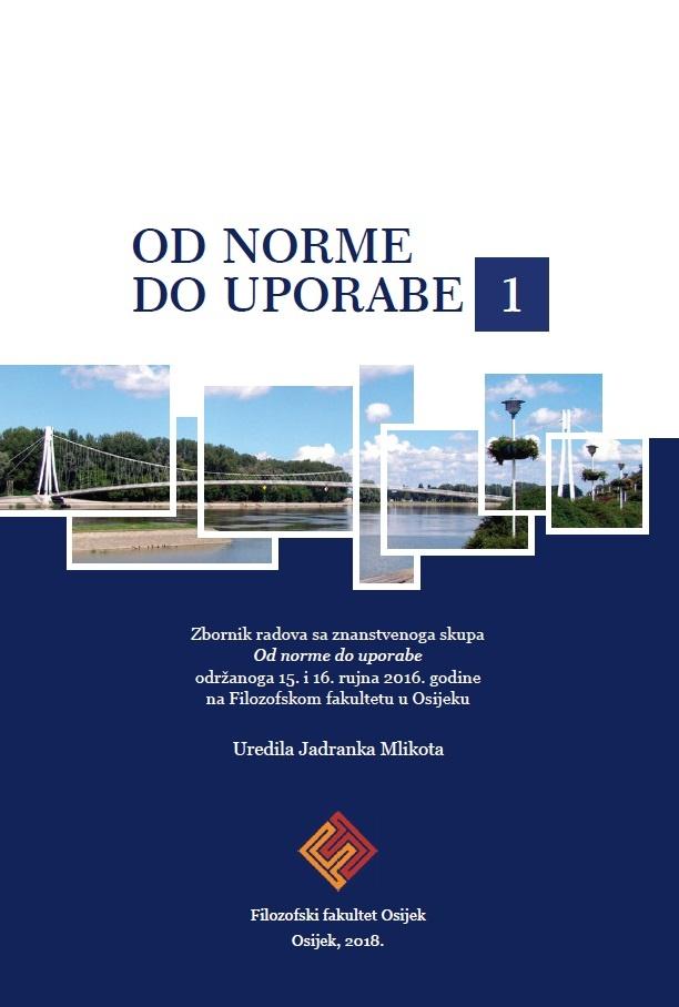 OD NORME DO UPORABE 1 - Zbornik radova